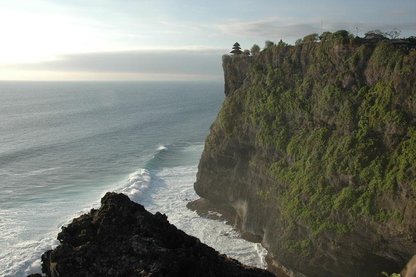 Increíbles vistas de Pura Luhur Uluwatu