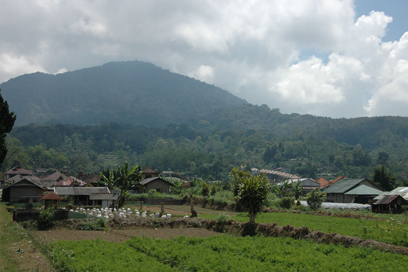 Preciosos paisajes en Ulun Danu
