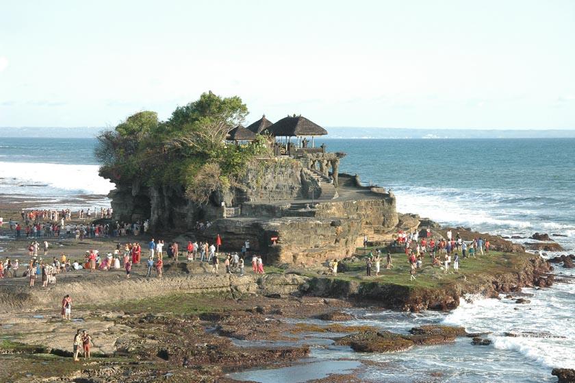 Tanah Lot, uno de los templos más bonitos de Bali