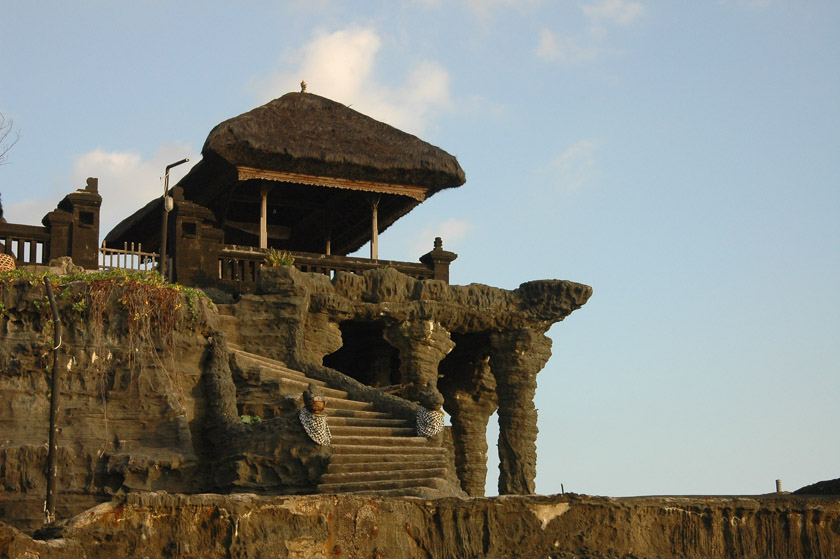 Preciosas estampas en Tanah Lot