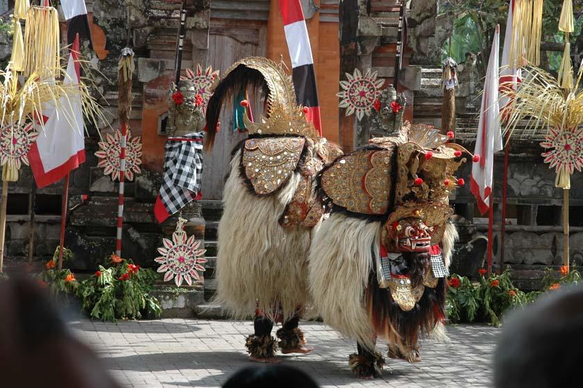 Personaje principal de la Danza del Barong