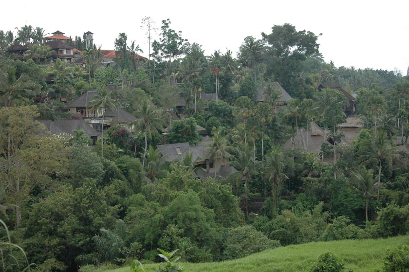 Maravillosa aldea en Ubud