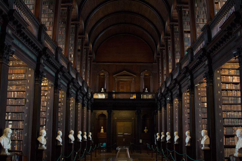 Visitando el Trinity College