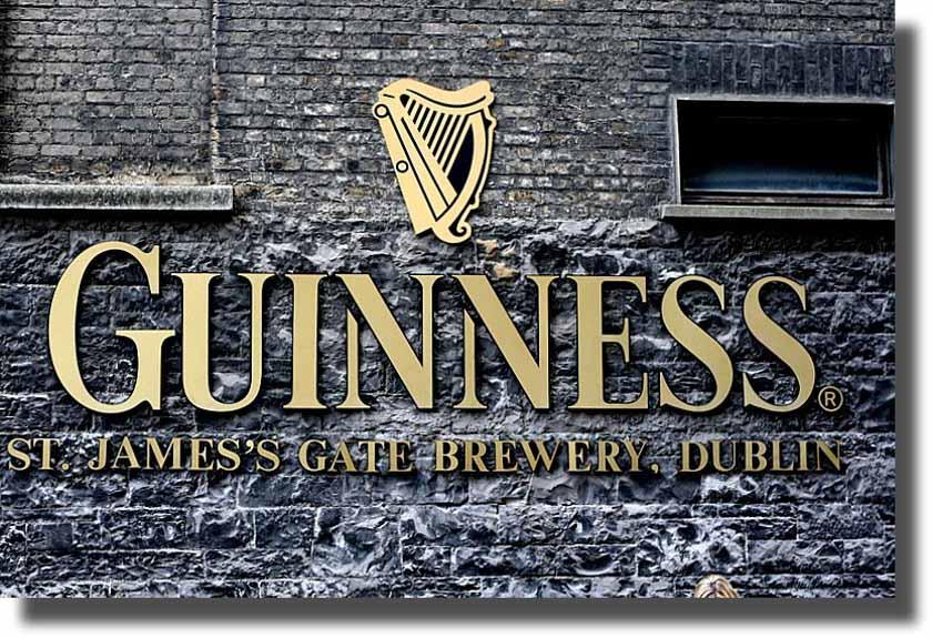 Visitaremos la fábrica de la Guinness
