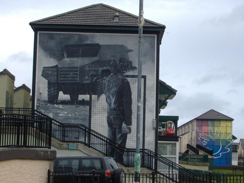 Recorreremos los murales de Derry