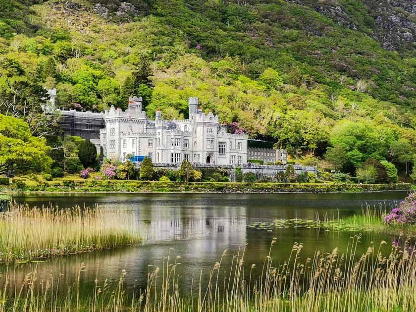 Preciosa abadía en Kylemore