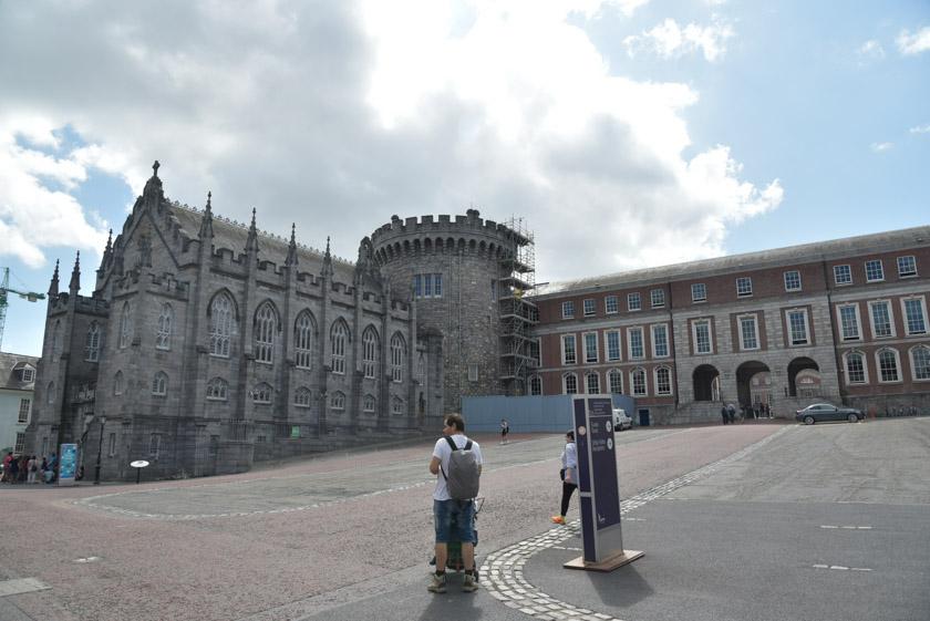 Torre medieval del Castillo de Dublín
