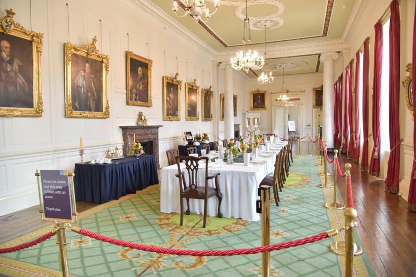 Salón de los Retratos del castillo de Dublín