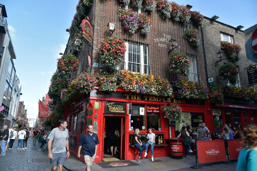 The Temple Bar, el pub más famoso de Dublín