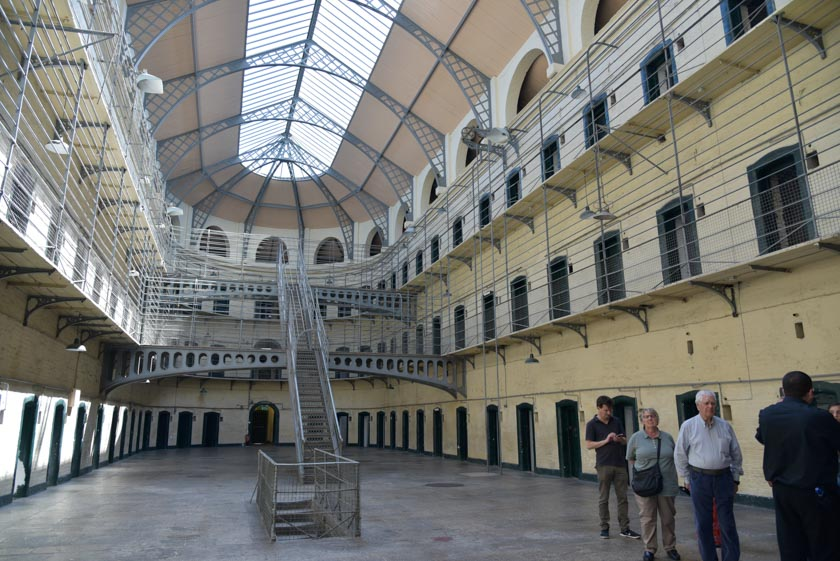 Visitamos la prisión de Dublín