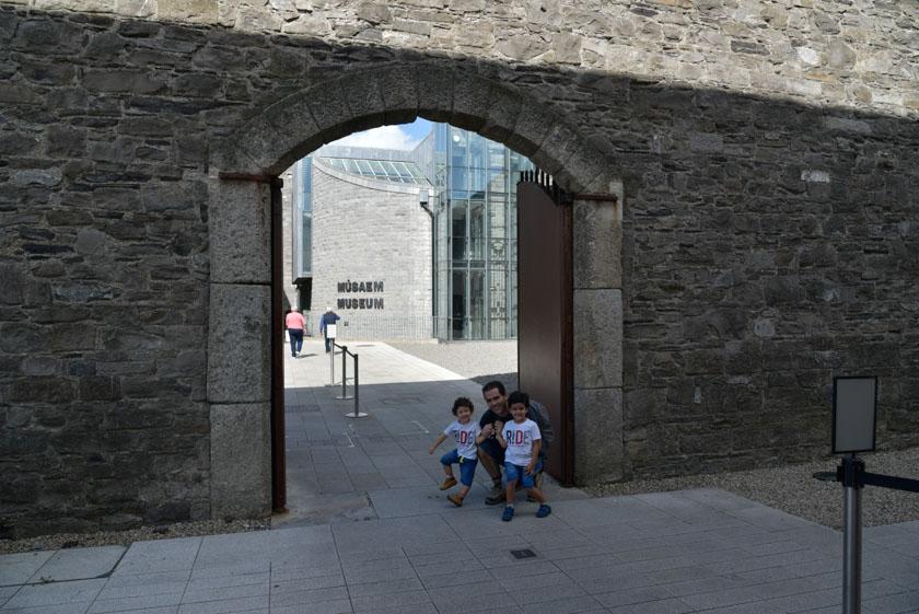 Visitando el museo de Kilmainham