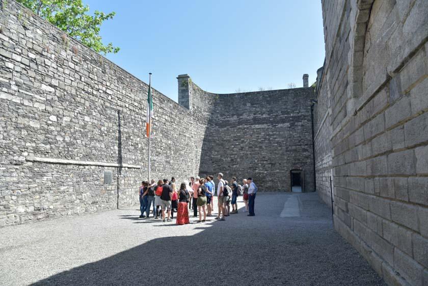 Patio de ejecuciones de Kilmainham