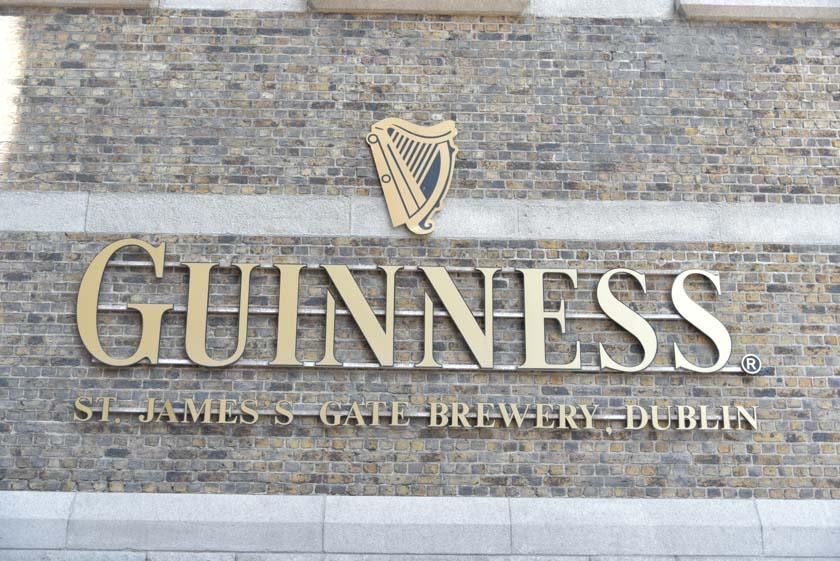 Llegamos a la Guinness Storehouse