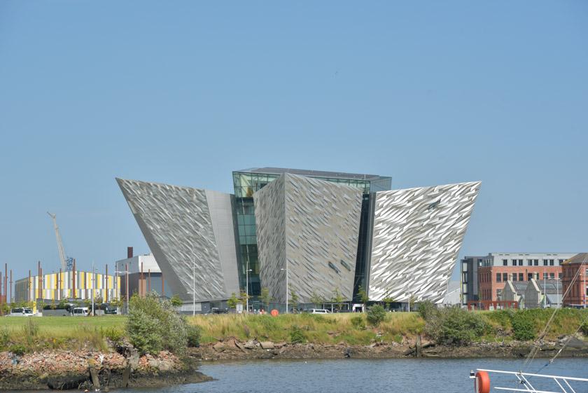Exterior del Museo Titanic de Belfast