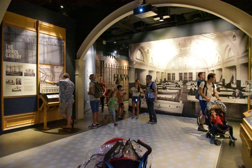 Exposición en el Museo Titanic de Belfast