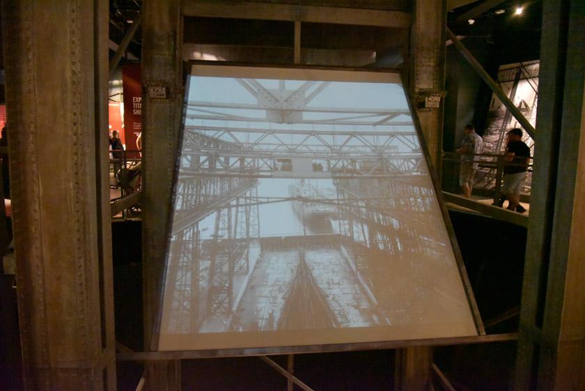 Fotografías reales en el Museo Titanic de Belfast