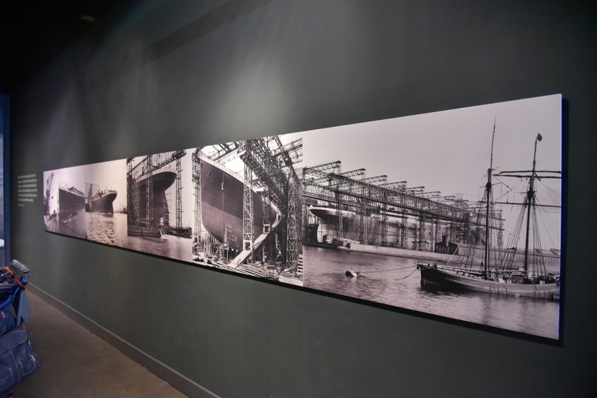 Gran colección de fotografías de la construcción del Titanic