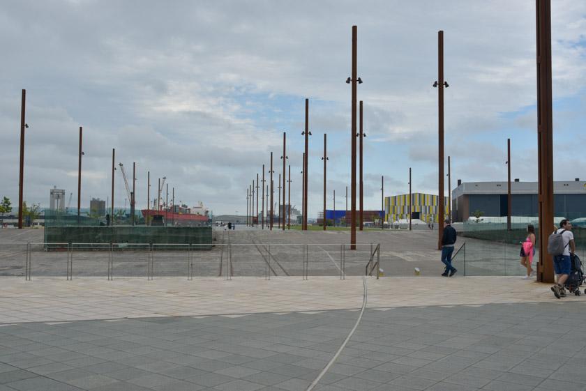 Paseando por los muelles donde se construyó el Titanic