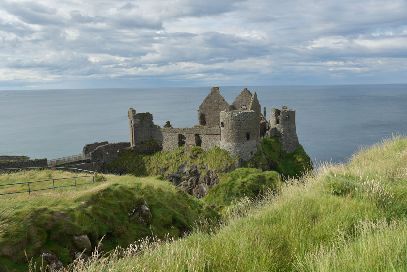 Precioso castillo en Irlanda del Norte