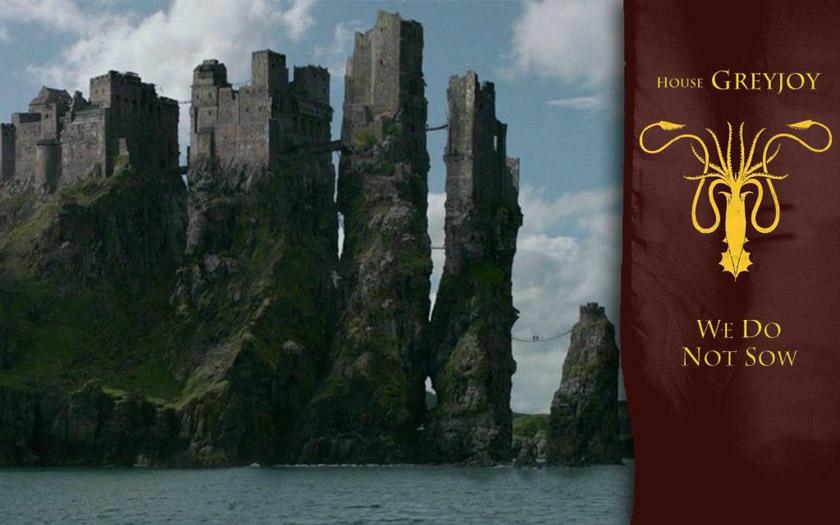 Imagen del castillo en Juego de Tronos