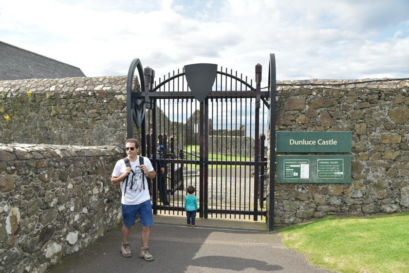 Nos quedamos a las puertas de Dunluce
