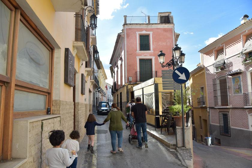 Como nos gustan las calles de Cehegín