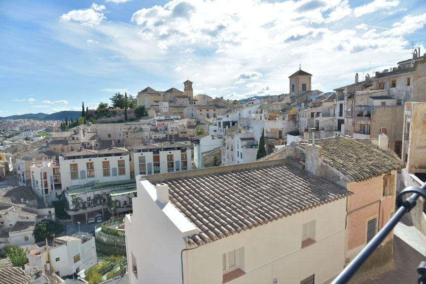 Vistas desde la Plaza del Castillo de Cehegín