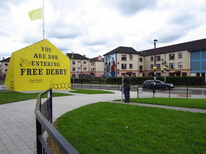 Visitando Free Derry