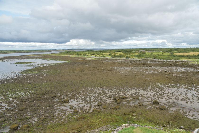 Bahía de Galway al lado de Kinvara