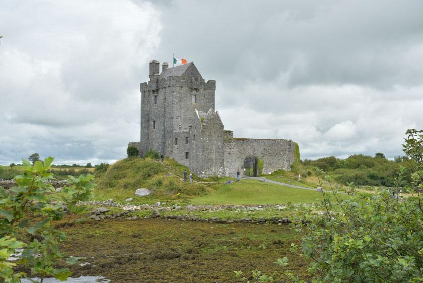 Imponente estampa del castillo de Dunguaire