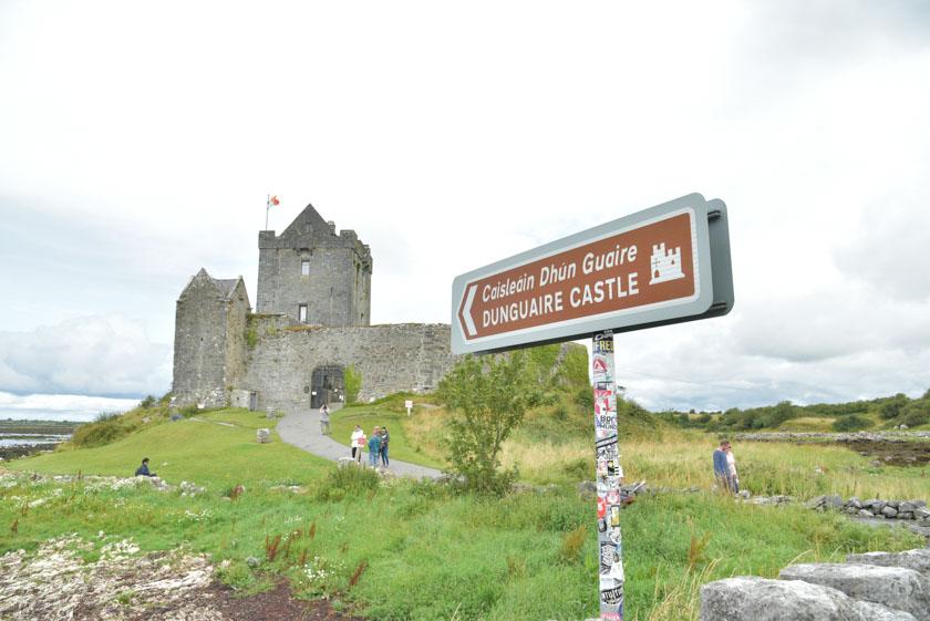 Entrada del castillo de Dunguaire