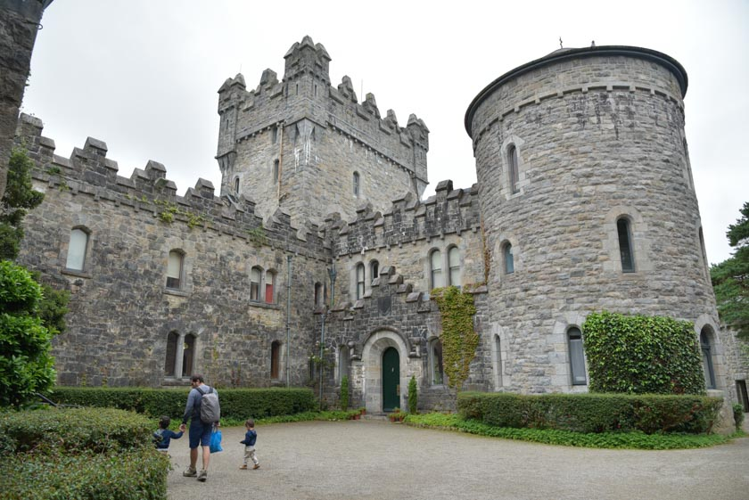 Entrada al Castillo de Glenveagh
