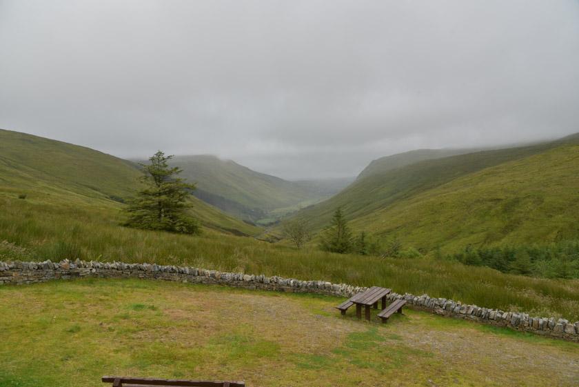Espectaculares vistas en Glen Gesh Pass