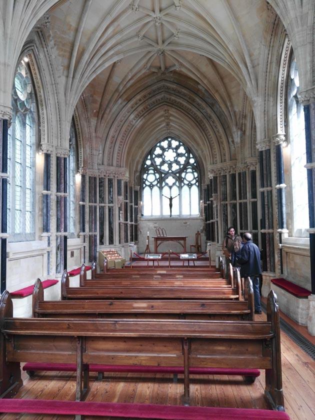 Interior de la Iglesia de Kylemore