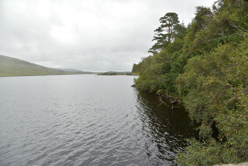 Espectaculares vistas del lago Beagh
