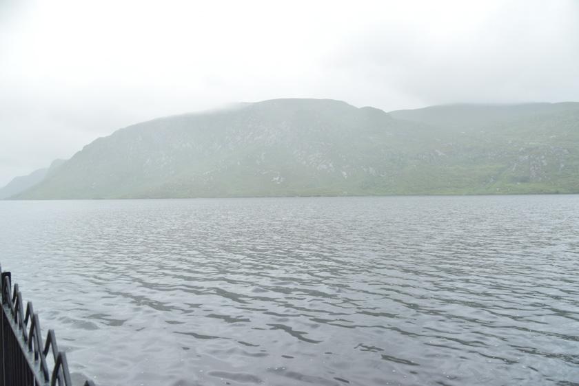 Lago situado en el Parque Nacional de Glenveagh