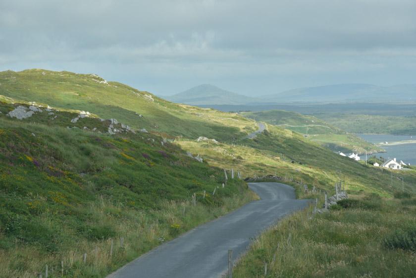 Vista panorámica de la Sky Road