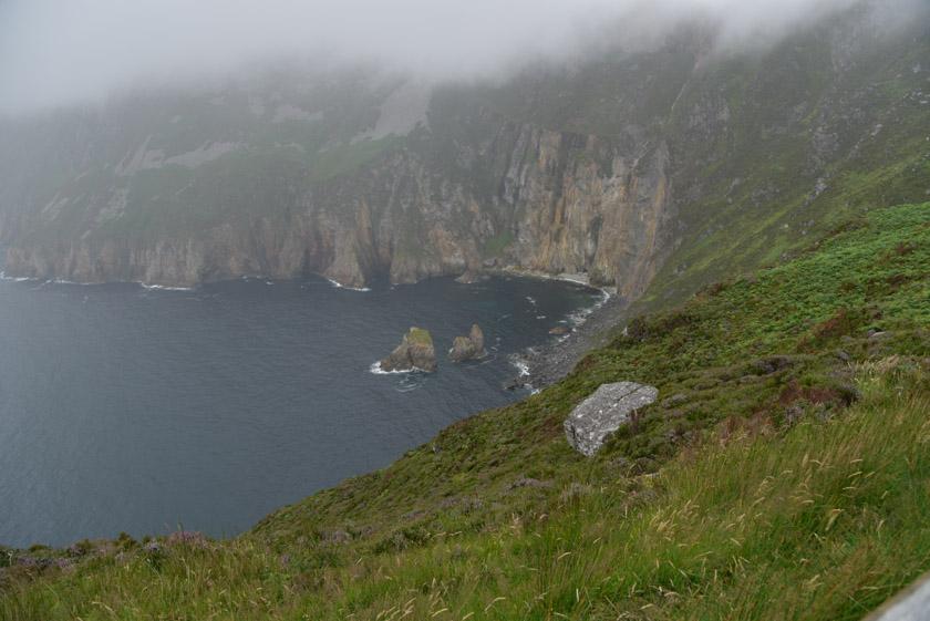 Acantilados de Slieve League en el condado de Donegal