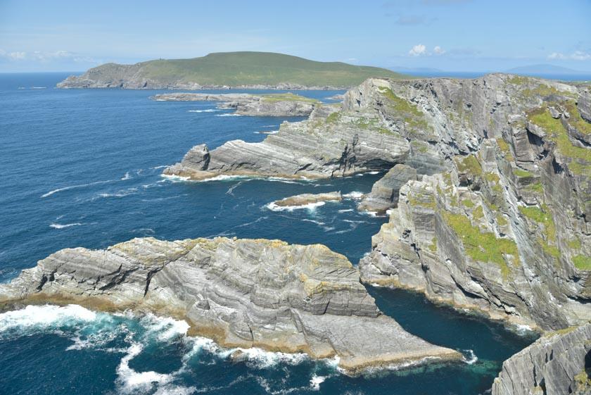 Increíbles vistas de los acantilados de Kerry
