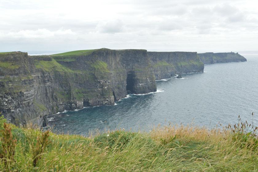 Los acantilados de Moher desde la torre O'Brien