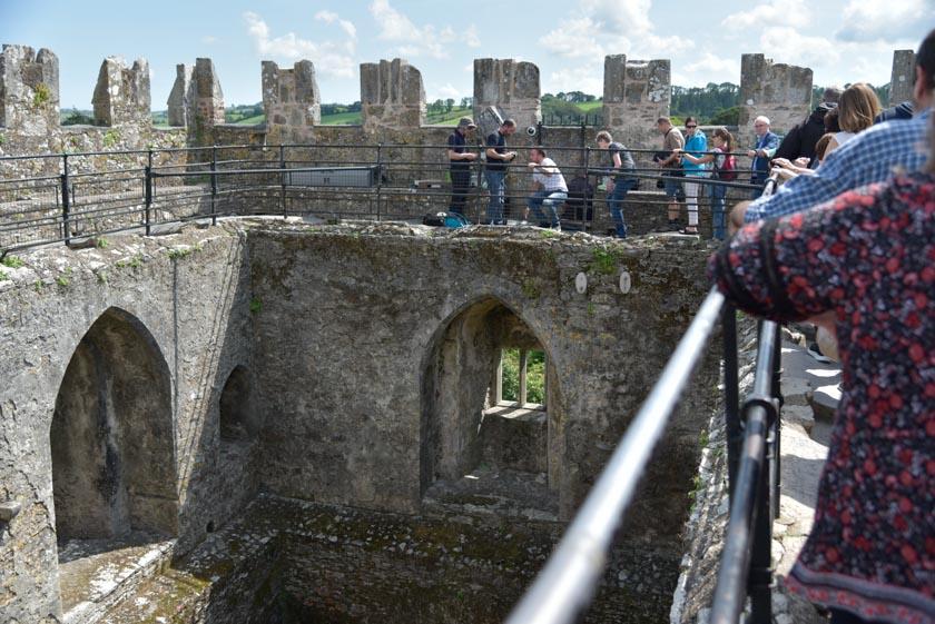 Haciendo cola para besar la piedra de Blarney