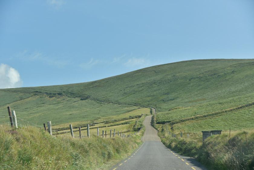 Espectacular carretera para llegar a Cliff View