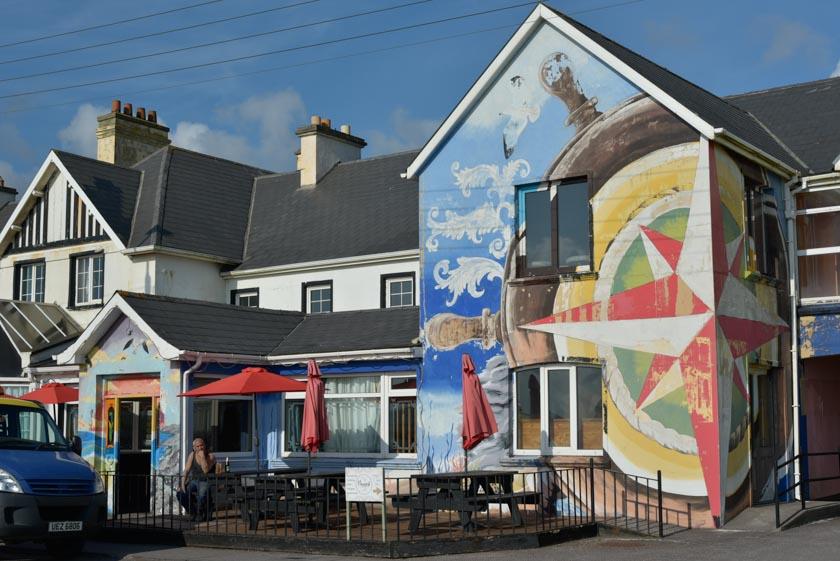 Los murales también están presentes en Waterville