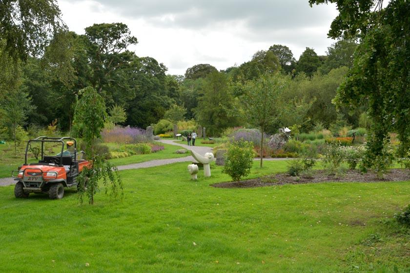 Vistas de los jardines de Blarney