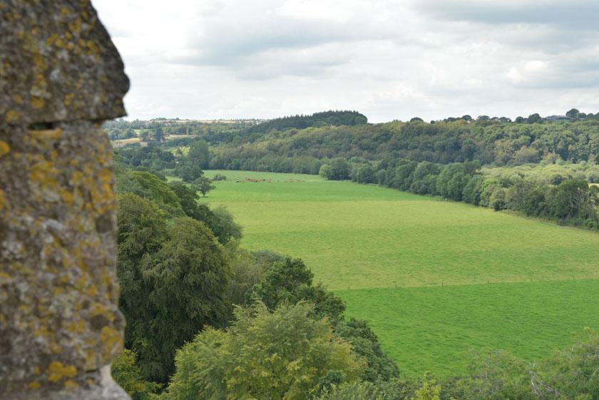 Vistas desde la torre del castillo de Blarney