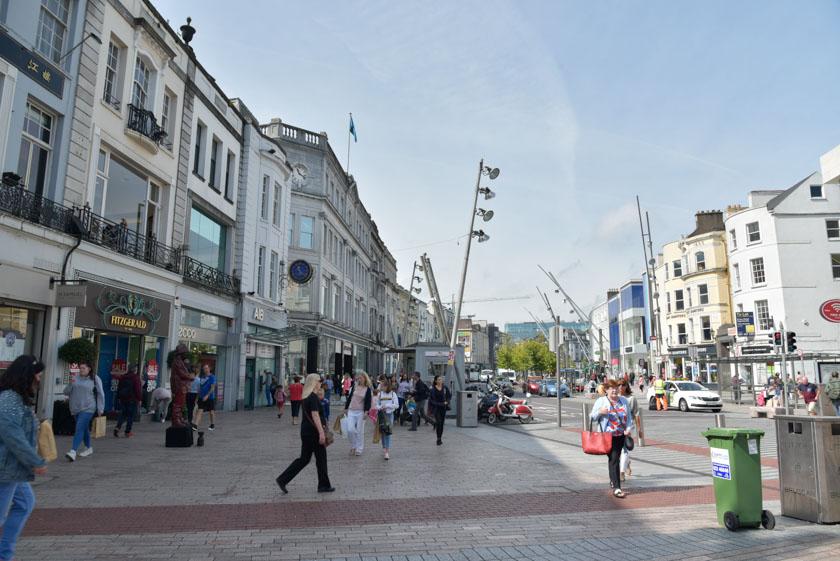 Calle St Patrick en Cork