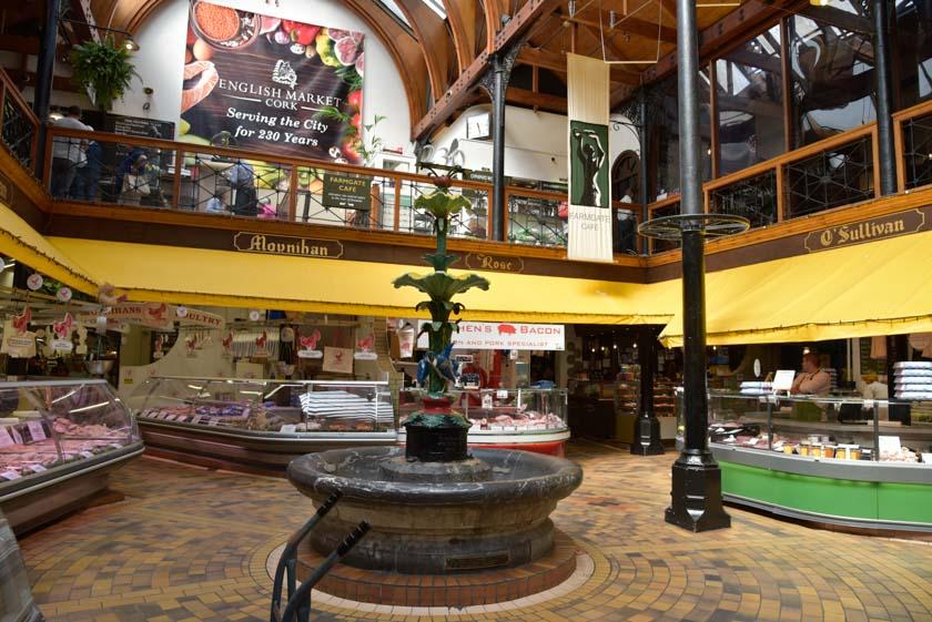 Plaza central del English Market