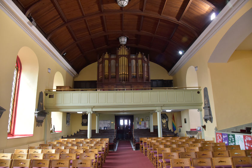 Interior de la Iglesia de Santa Ana
