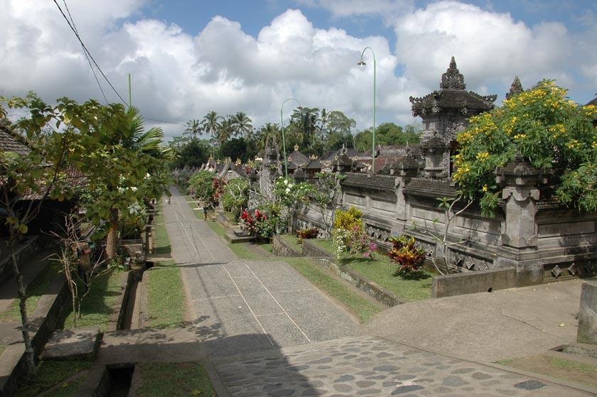 Calle principal de Penglipuran