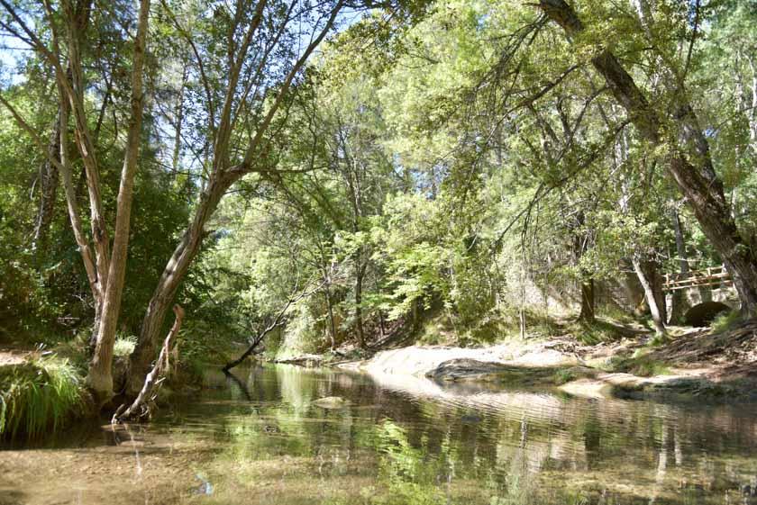 Maravillosos paisajes camino del nacimiento del Guadalquivir